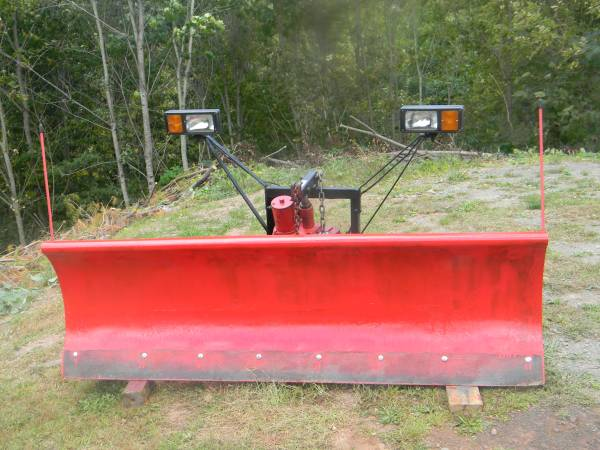 Photo Western Snow Plow - $500 (Otego)