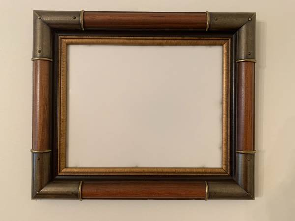 Photo Wooden Wall Photo Frames (Two-Tone Metal) (SET OF 4) - $30 (Utica)