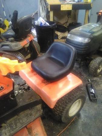 Photo ride on mowers HUSQVARNA - $350 (HARPURSVILLE NY)