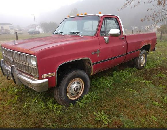 Photo 1982 Chevrolete 4x4 K20 6.2 Diesel - $2,000 (Kinston)