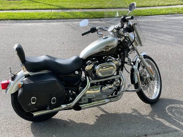 Photo 2003 Harley Davidson Sportster 1200 Custom - $6,995 (Little River)