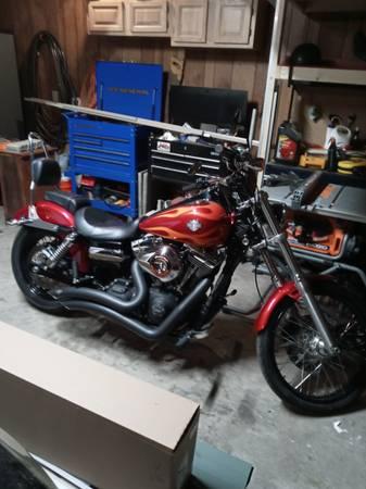 Photo 2012 Harley Dyna Wide Glide - $9,000 (Richlands)