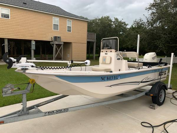 Photo 2018 Carolina Skiff JVX18 - $22,850 (Sneads Ferry, NC)