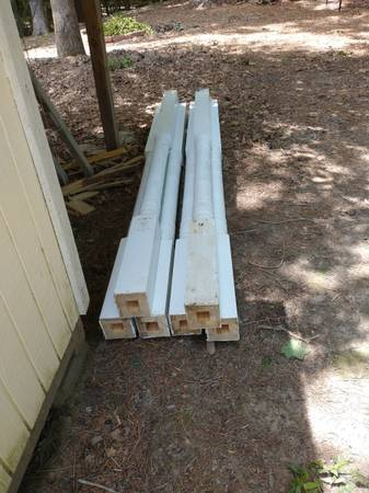 Photo 6 - Used 4x4 Wooden Porch Post - $50 (Clayton)