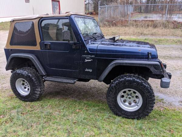 Photo 97 Jeep WRANGLER TJ 4.0 5 Spd LOW MILES - $7995 (Wendell)