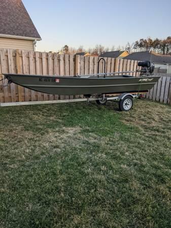 Photo Alumnacraft 1540 jon boat - $4,000 (Graham, NC)