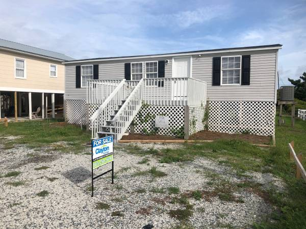 Photo Beach Property Land  Home. 1999 Doublewide 32 WZ3 24x48. For Sale (North Topsail Island, NC)