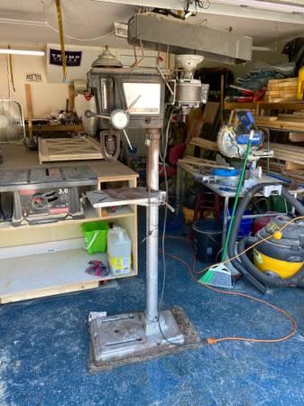 Photo Craftsman Drill Press 15 12 inch - $300 (Jacksonville)