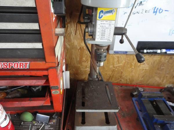 Photo Cummins Pro Drill Press - $95 (Cary)