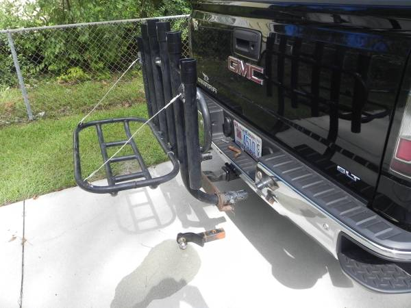 Fishing Rod Rack Surf Vehicle Mount Black 100 Eastern Nc Sports Goods For Sale Jacksonville Nc Shoppok