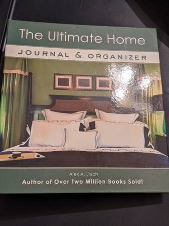 Photo KEEP HOME RECORDS ORGANIZED The Ultimate Home Journal  Organizer - $50 (Raleigh)