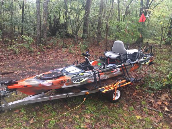 Kayak Feelfree Lure 13 5 With Trailer 1700 Oriental Boats For Sale Jacksonville Nc Shoppok