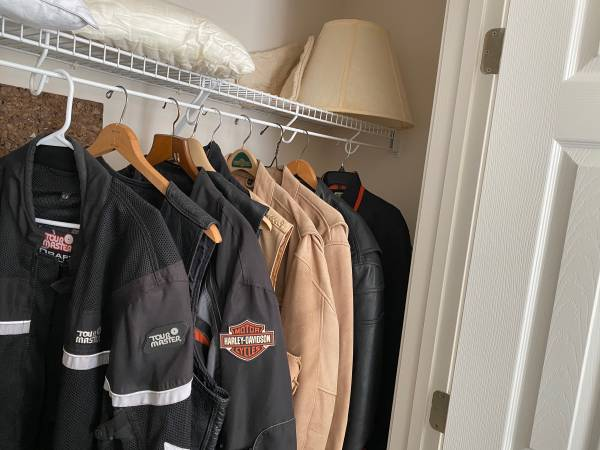Photo Motorcycle jackets for sale - $50 (Emerald Isle)