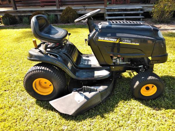 Photo Yard Machine By MTD Riding Mower for Sale - $500 (Beulaville)