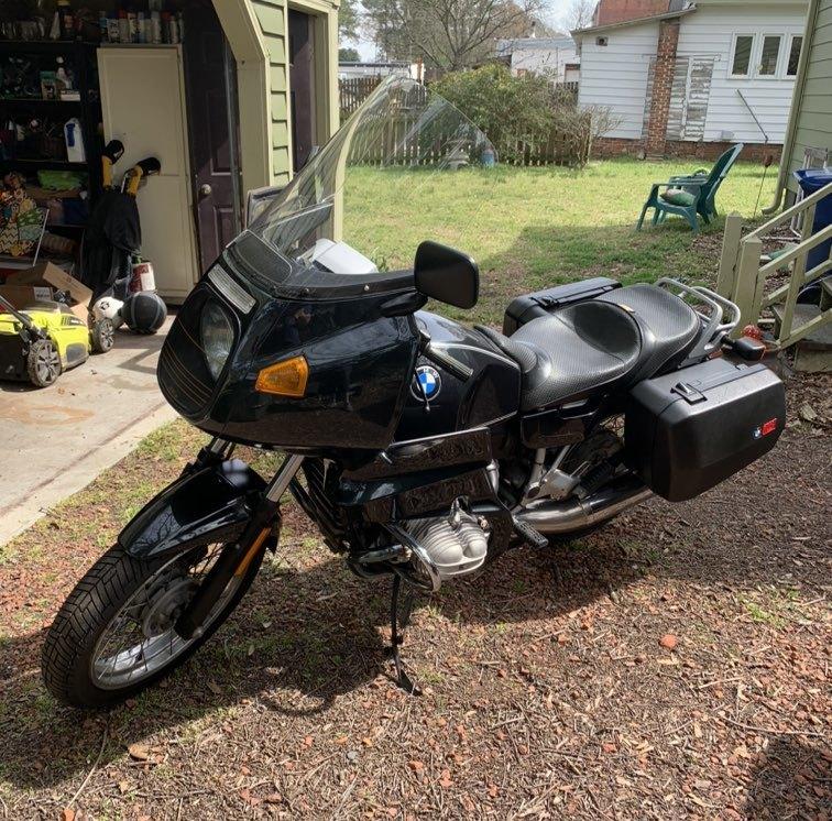 Photo 1992 BMW R 100 $5100