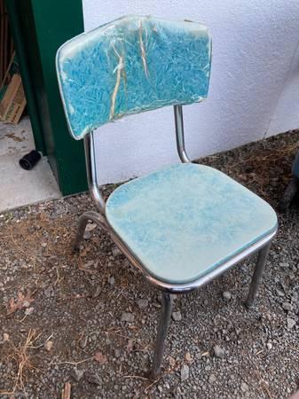 Photo vintage retro 1950s kitchen table chair (N Durham)