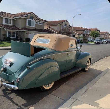 Photo 1939 Ford Cabriolet - $48,000 (Cypress ca)