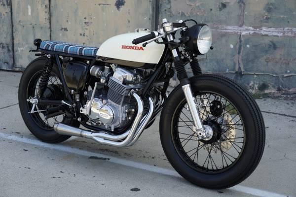 Photo 1973 Honda CB750 Cafe Racer (Los Angeles)