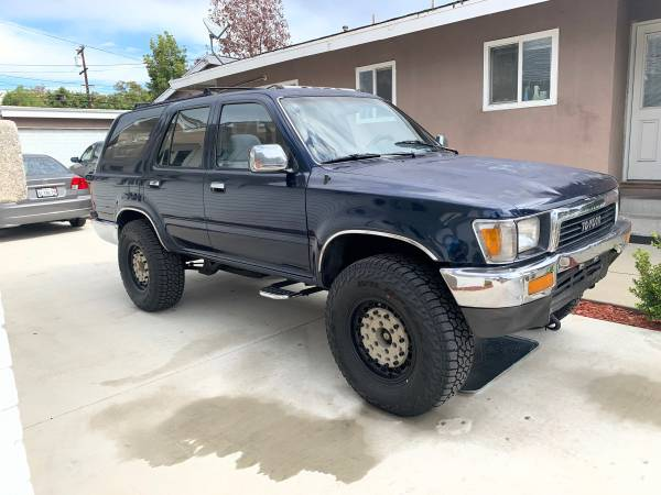 Photo 1990 Toyota 4Runner v6 4x4 5 speed - $5000 (Fullerton)