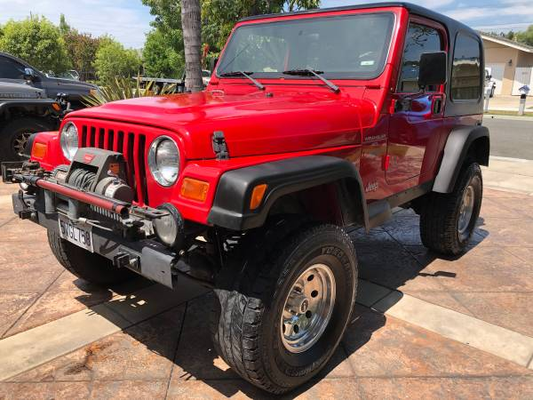 Photo 1997 Jeep Wrangler TJ Sport - $14,700 (North Tustin)
