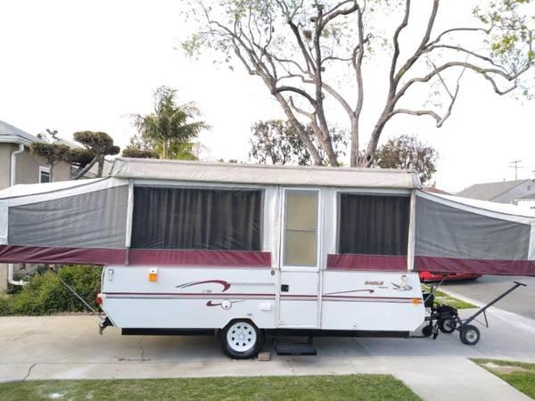Photo 1999 Eagle Jayco pop up tent trailer - $3100