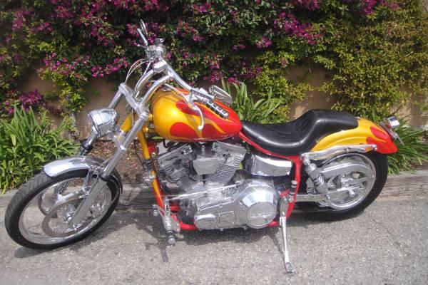Photo 1999 Harley Davidson Easy Rider Dennis Hopper SS - $8,500 (Costa Mesa)