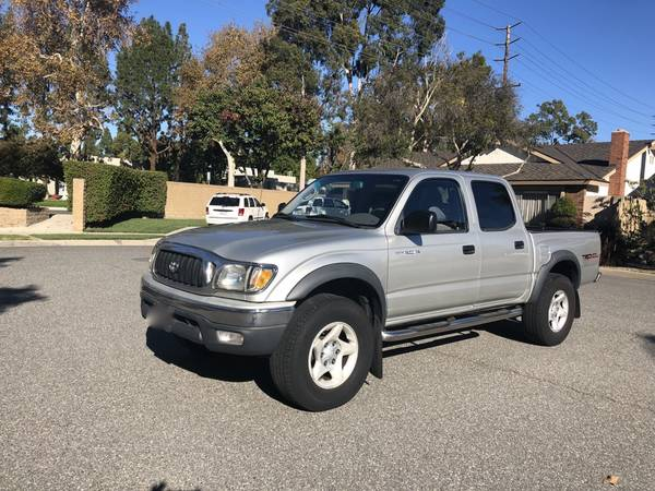 Photo 2003 Toyota Tacoma Trd double cab very low 109,000 miles. Mint - $13500 (Orange and LA)