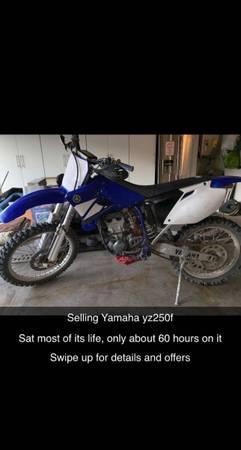 Photo 2003 Yamaha yz250f 4 stroke - $2,699 (Mission Viejo)