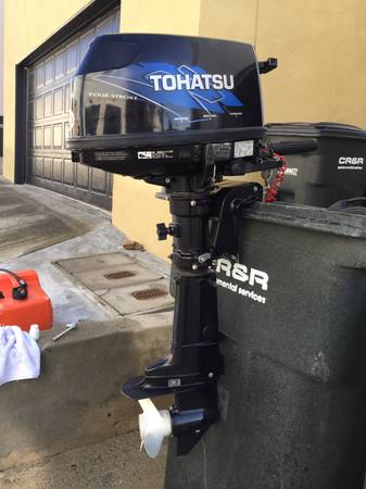 Photo 2006 Tohatsu 6hp 4 Stroke Outboard - $750 (Newport Beach)