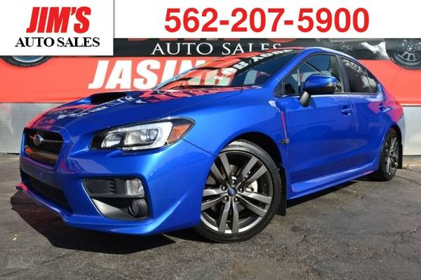 Photo 2016 Subaru WRX Subaru Turbo AWD Manual 6 Speed Navigation Bac (_Subaru_ _WRX_ _Sedan_)