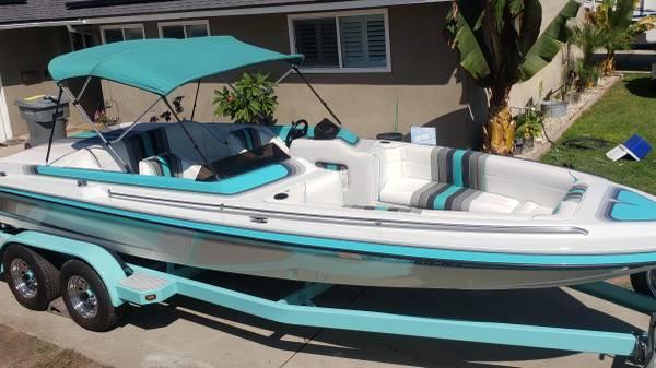 Photo 21ft Hardin Marine jet boat. Open bow - $21,500 (Buena Park)