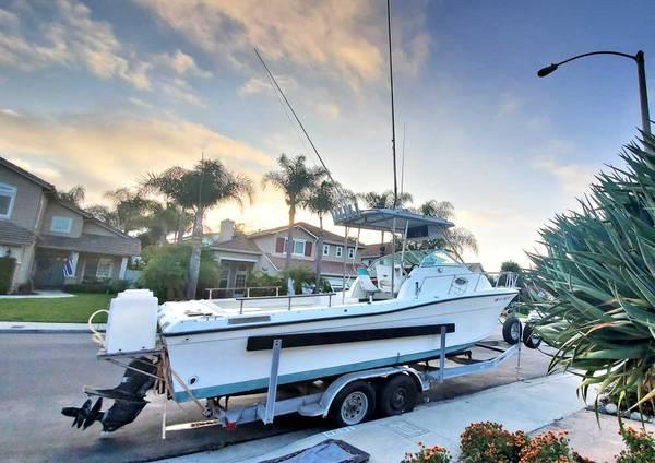 Photo 25 ft Aquapro Diesel Cuddy Cabin - $21,000 (San Clemente)