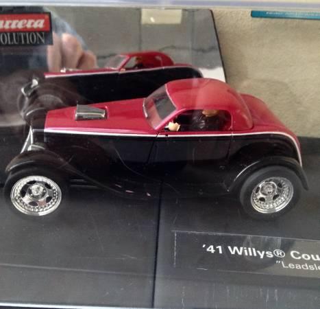Photo 4139 WILLYS COUPE  SLOT CAR - $110 (Capistrano Beach)