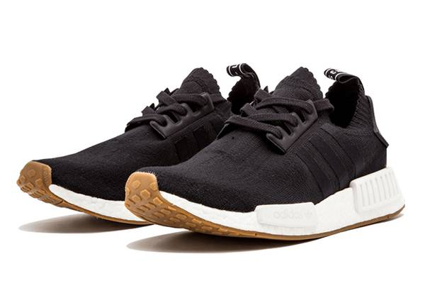 Photo Adidas NMD R1 PK Primeknit Casual Black Mens Size 10.5-11 - $79 (Lake Forest)
