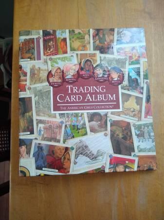 Photo American Girl Doll Trading Card Album - $20 (Laguna Niguel)