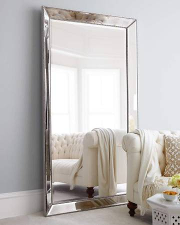 Photo BRAND NEW Huge Omni Floor Leaner Mirror Retail price $600 - $470 (Orange County  Free Delivery)