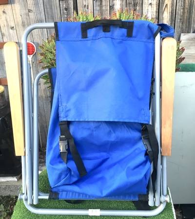 Photo Backpack Multi-Position Beach Chair - $35 (Capistrano Beach)