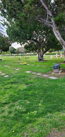 Photo Burial Side by Side Plots For Sale Beautiful Location (Historic Santa Ana Cemetery)