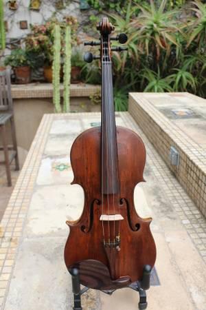 Photo C. 1850 Richard Rubus Full-Size Violin - Pros Only - GermanyRussia - $925 (Capistrano Beach (O.C.))