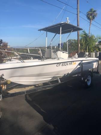Photo Center console fishing boat for sale - $8,000 (Costa Mesa)
