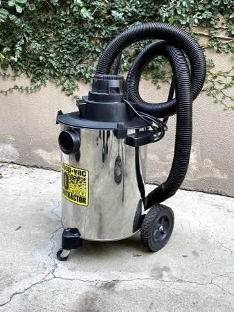 Photo Contractor Shop Vac 10 Gallon Stainless Steel WetDry Vacuum - $45 (Irvine)