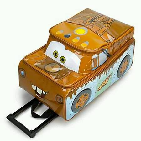 Photo Disney Cars Mater suitcase rolling - $39 (Mission Viejo)