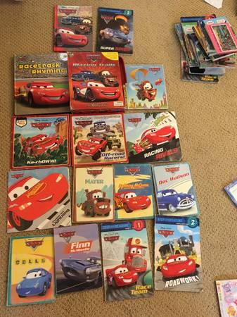 Photo Disney Cars books lot - $2 (Mission Viejo)