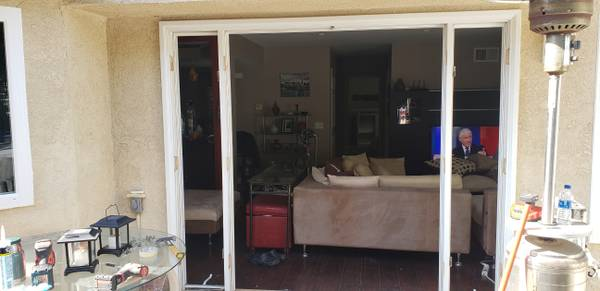 Photo Double French Door with Side Lights - $124 (Irvine)