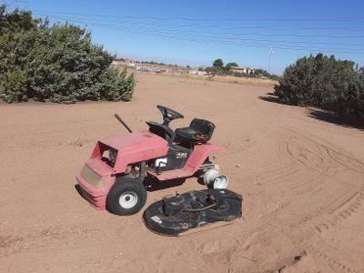 Photo Garden Tractor with mower attachment - $125 (Hesperia)