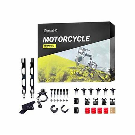 Photo Insta 360 GoPro Motorcycle Bundle Kit - $10 (Irvine)