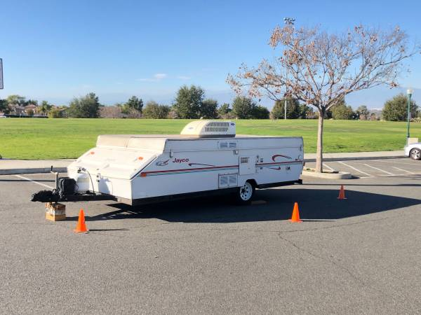 Photo JAYCO TENT TRAILER WITH AC AND A SHOWER TOILET - $3800 (Orange County)