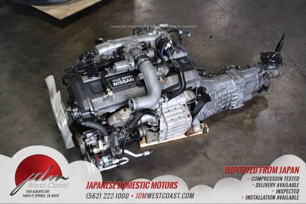 Photo JDM RB25DET SERIES 2 R33 Nissan Skyline S2 2.5L RB25DET W 5 SPD MT - $7,100 (Santa Fe Springs)