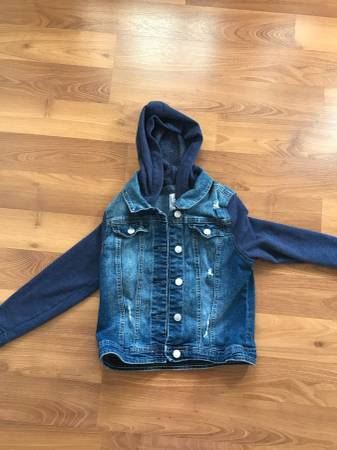 Photo Justice Girls Jean Jacket Size 12 - $10 (Huntington Beach)