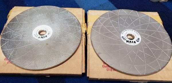 Photo Maja 6quot Diamond Disc Glass Rock Stone Shaping Polishing Wheels - $40 (Garden Grove)